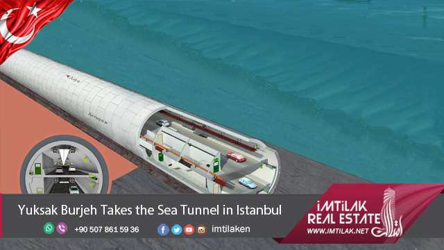 Yuksak Burjeh Takes the Sea Tunnel