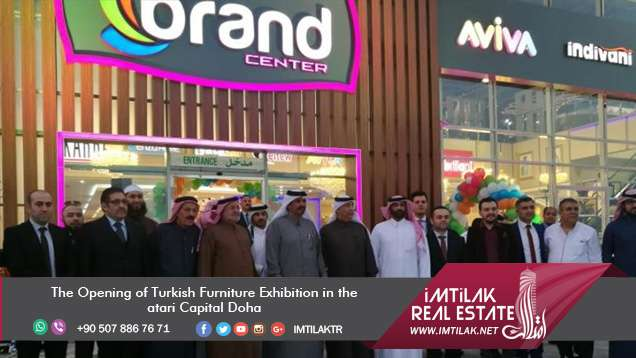 The Opening of Turkish Furniture Exhibition in the Qatari Capital Doha