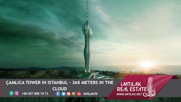 Çamlıca Tower in Istanbul - 365 Meters in the Cloud