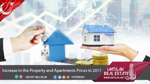 Increase in the Istanbul Real Estate Prices in 2017