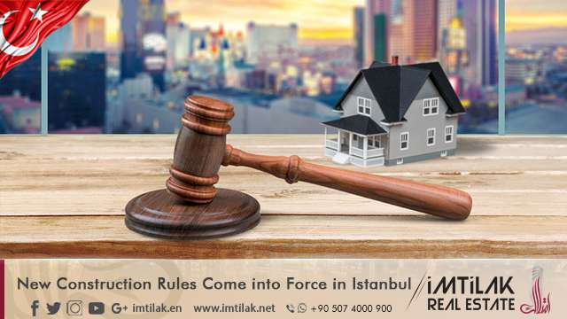 New Construction Rules Come into Force in Istanbul