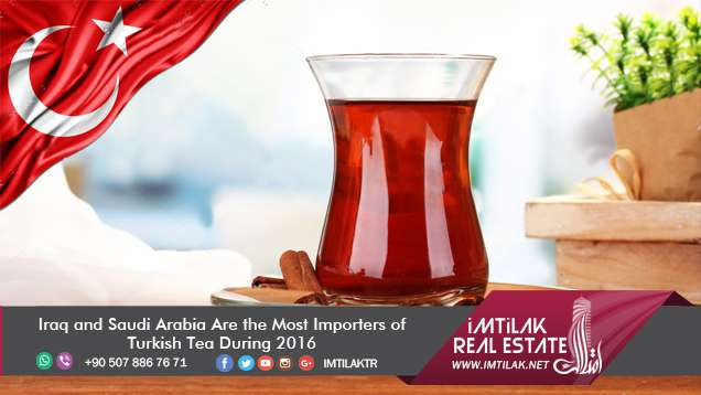 Iraq and Saudi Arabia Are the Most Importers of Turkish Tea During 2016