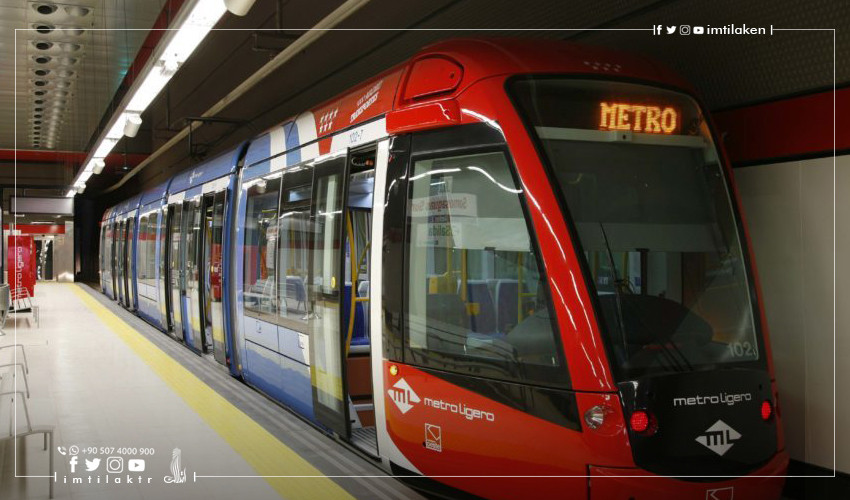 Completion of the Second Phase of Kabatas-Mahmutbey Metro Line in Istanbul