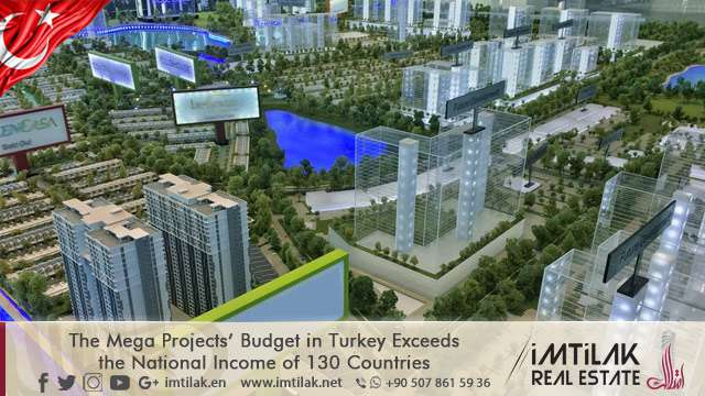 The Mega Projects' Budget in Turkey Exceeds the National Income of 130 Countries