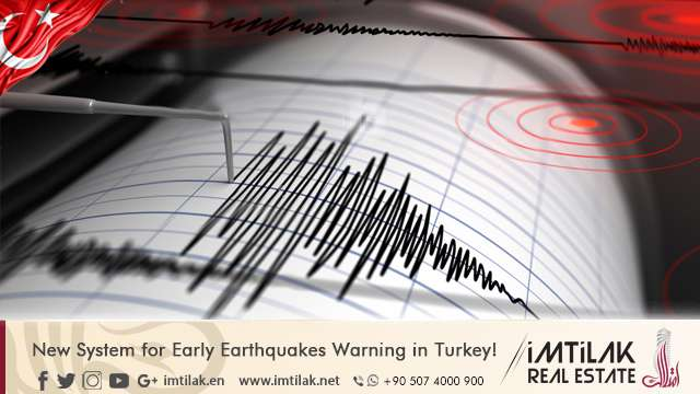 New System for Early Earthquake Warning in Turkey!