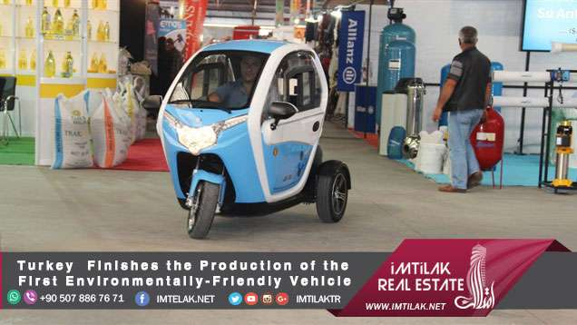 Turkey Finishes the Production of the First Environmentally-Friendly Vehicle
