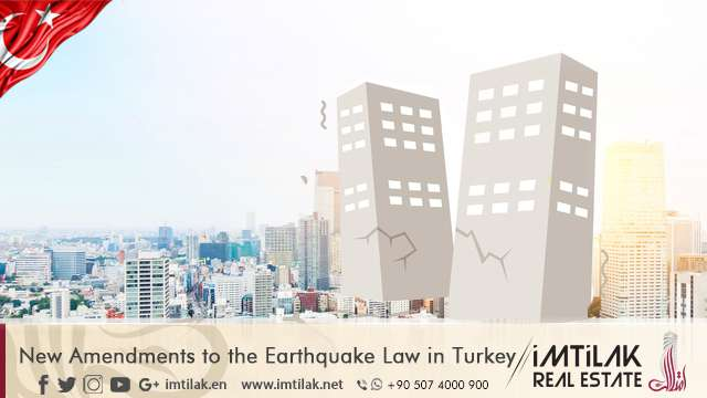 New Amendments to the Earthquake Law in Turkey