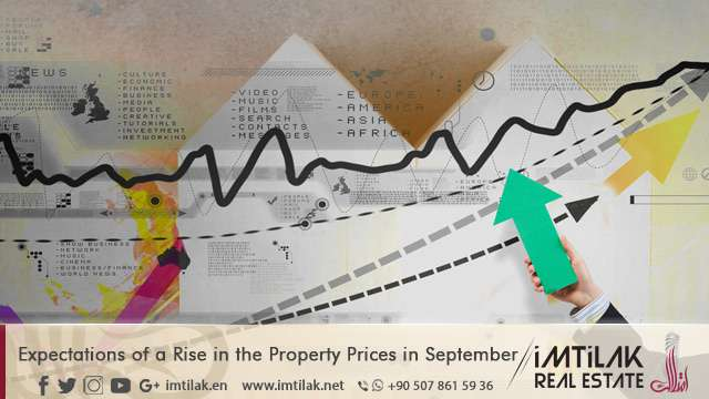 Expectations of a Rise in the Property Prices in September