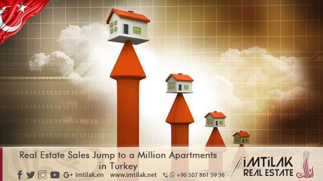 Real Estate Sales Jump to a Million Apartments in Turkey !