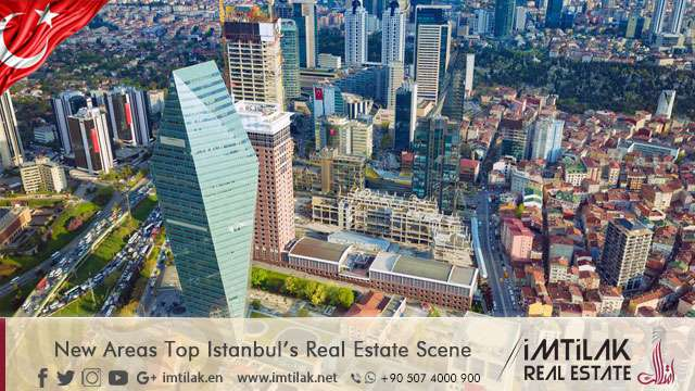 New Areas Top Istanbul's Real Estate Scene