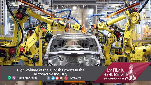 Rise in the Volume of the Turkish Automotive Industry's Exports