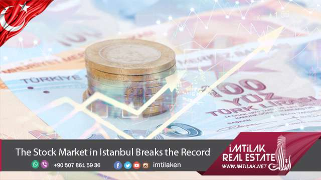 The Stock Market in Istanbul sets new record