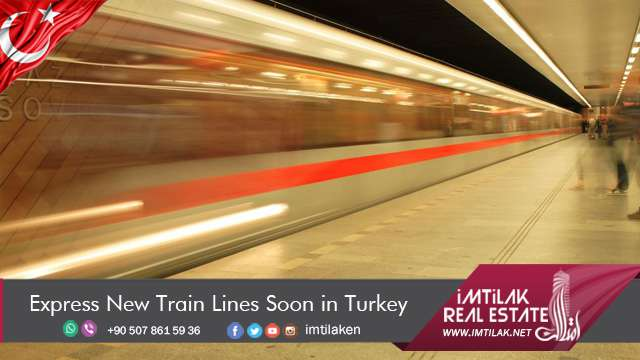 Express New Train Lines Soon in Turkey
