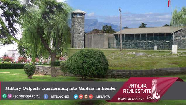 Military Outposts Transforming into Gardens in Esenler