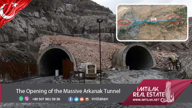 The Opening of the Massive Arkanak Tunnel