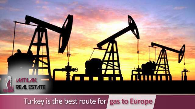 Turkey is the best route for gas to Europe