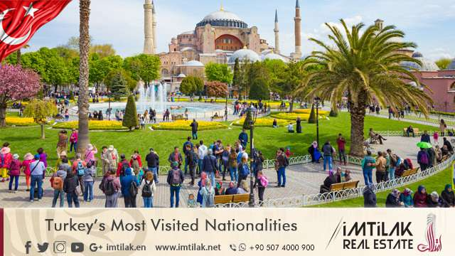 Turkey's Most Visited Nationalities