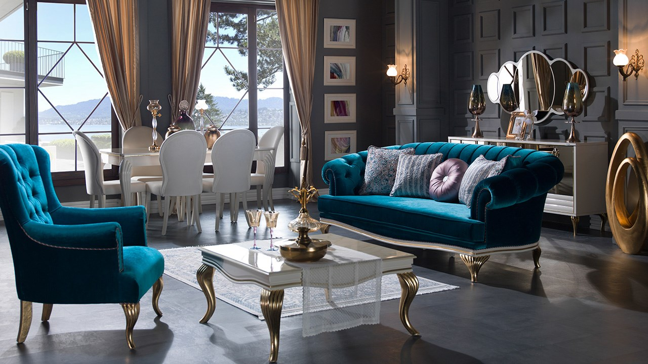 """The most beautiful Turkish home furnishings, Turkish furniture istikbal"