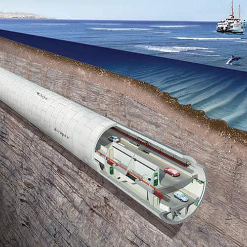 مشاريع البنية التحتية في إسطنبول