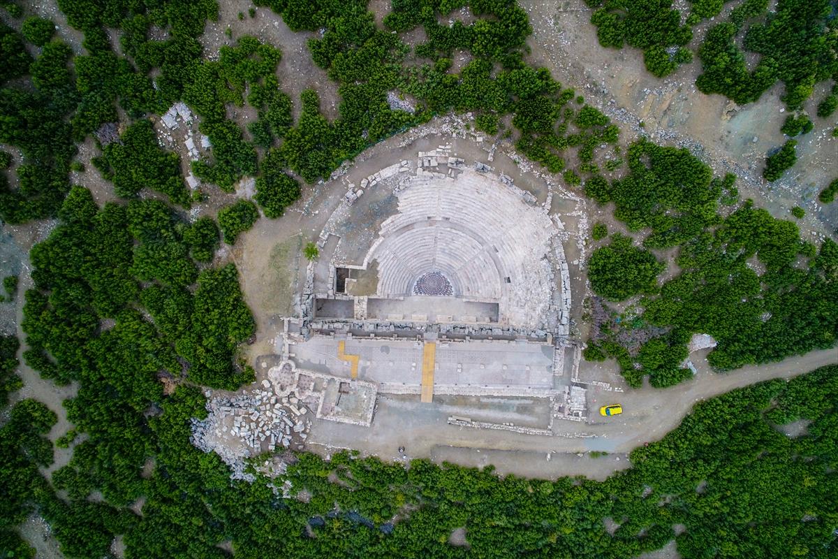 The Ancient City Of Kibyra In Turkey