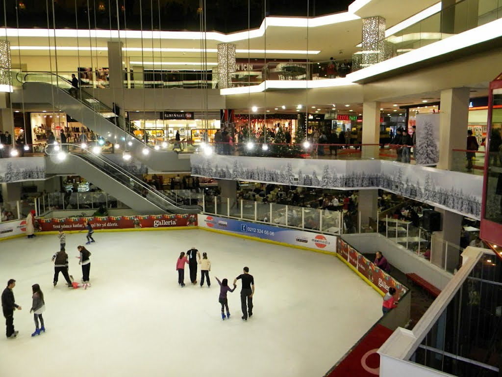 Galleria Shopping Mall in Istanbul