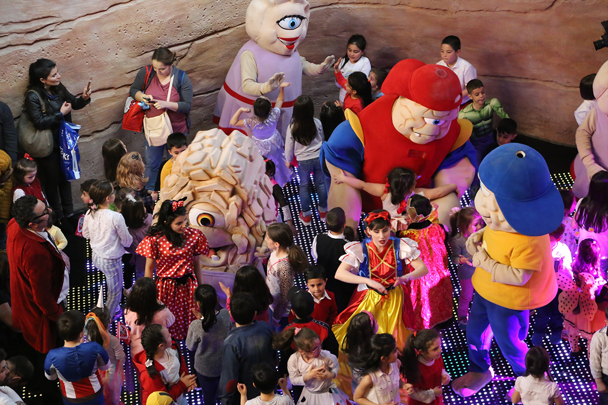 parc d'attractions au Mall of Istanbul