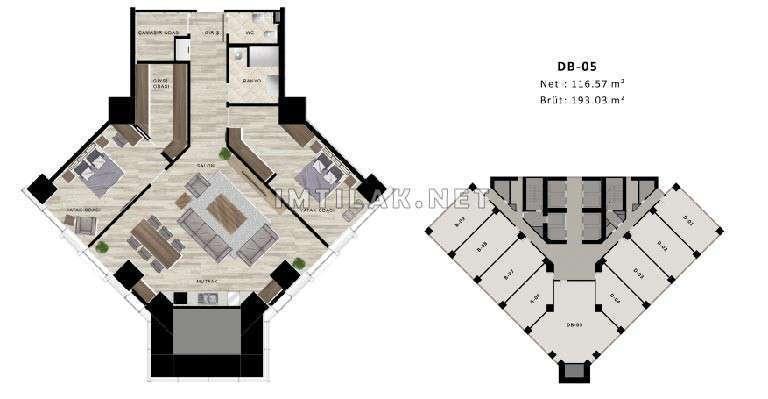 Property For Sale In Bosphorus Istanbul - Norul Shishli Project IMT-62