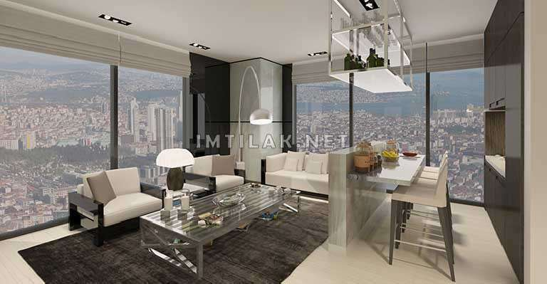 Property For Sale In Bosphorus Istanbul - Norul Shishli Project IMT-62