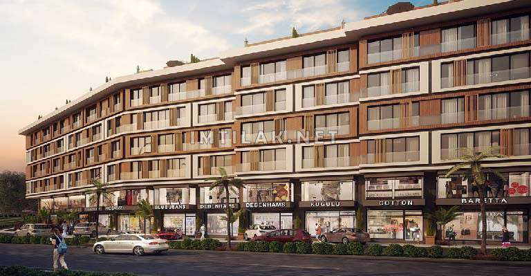 Flats For Sale In Istanbul European side - Bomonty Shishli ProjectF