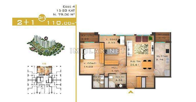 Buy House In Turkey Istanbul - Nour Istanbul Project  IMT-64
