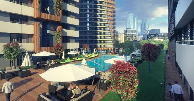 Apartments for sale in Asian side Istanbul - Anatolia Jewel Project IMT - 410