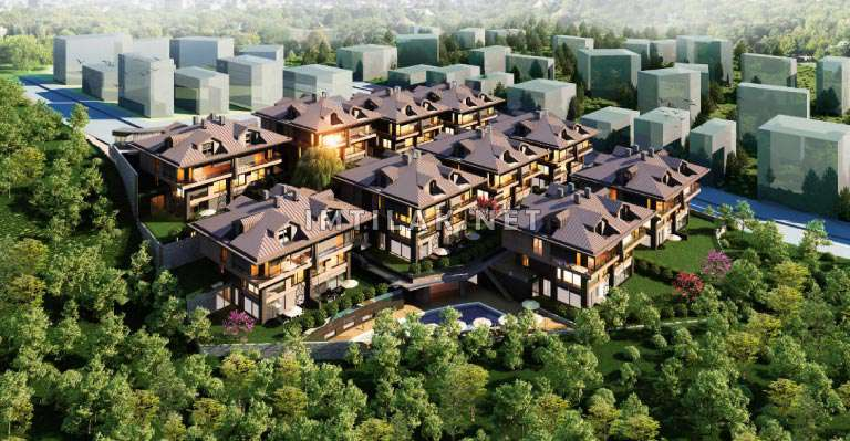 Houses For Sale In Bosphorus Istanbul -Residence Sarir Project