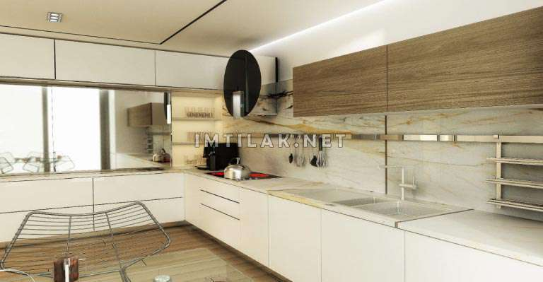Houses For Sale In Bosphorus Istanbul -Residence Sarir Project IMT - 229