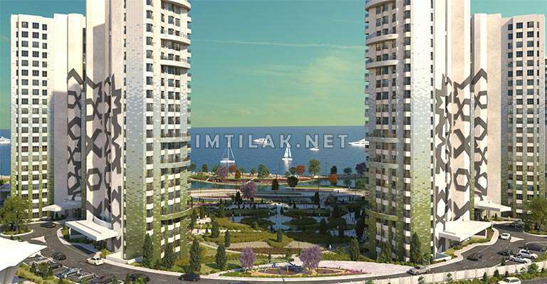 Apartments For Sale In Iistanbul Sea View - Marmara Pearl Projec