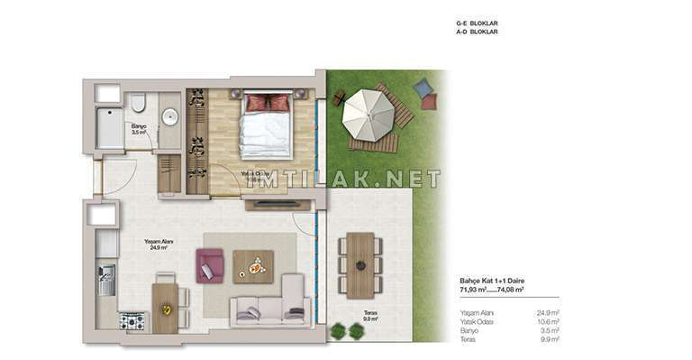 Property For Sale In Istanbul Asian side - Aydos Park Project
