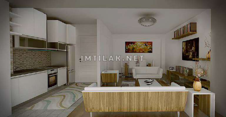 Apartments For Sale In Istanbul European Side - Gulf Panorama IMT - 211