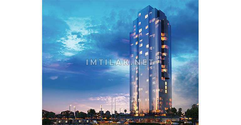 Apartments For Sale In Istanbul Asian side - Maltepe Tower Project IMT - 412