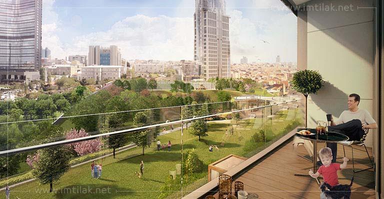 عقارات شيشلي اسطنبول - مجمع كوين شيشلي IMT-73