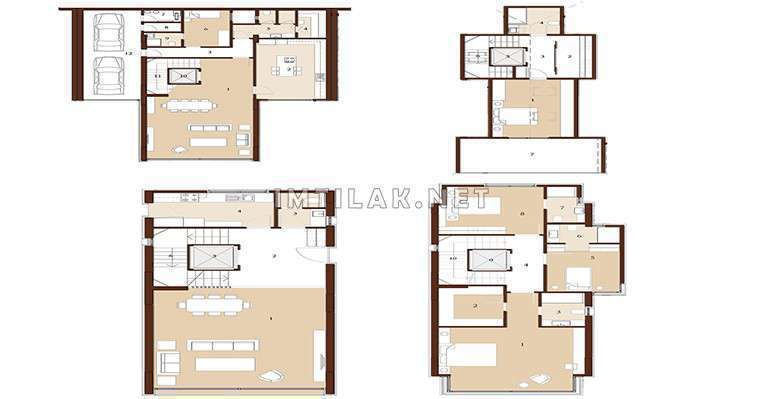 Luxury Apartments For Sale In Istanbul Asian Side -IMT-50 Anatolia Tepe