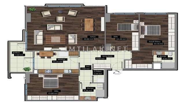 Homes For Sale In Istanbul - Bahçeşehir Vadi Project