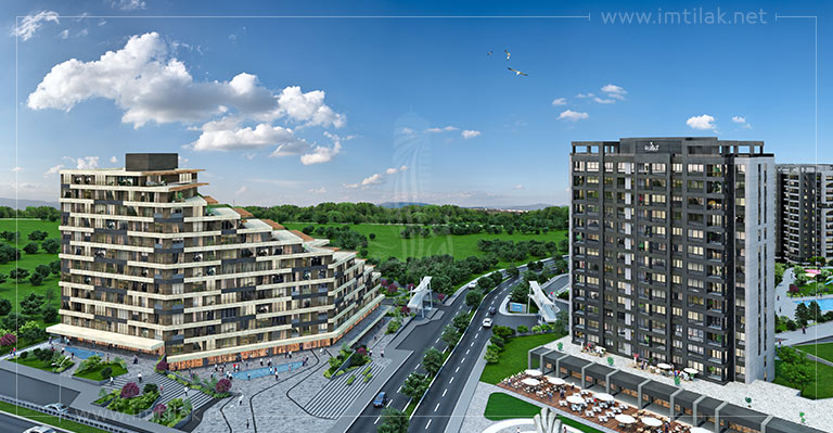 Istanbul Luxury Apartments For Sale - IMT-95 Istanbul Residence 3 Project