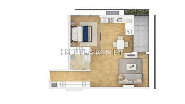 Istanbul luxury Apartments For Sale - Galaxy Tower Project
