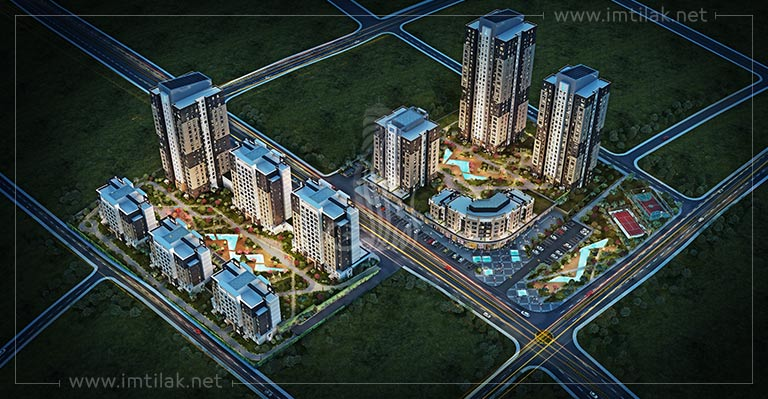luxury Istanbul real estate - IMT-83 Ispartakule Towers Project