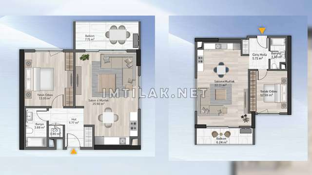 IMT-65 Europe Residence Complex - Atakent