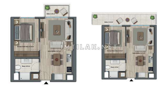 Turkey Real Estate For Sale - IMT-93 Isparta Garden Project