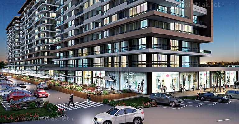 Istanbul Apartments For Sale - IMT-170 Marmara Palace Project