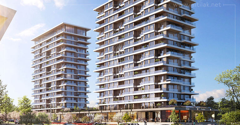 Property for sale in Istanbul Turkey - IMT-84 Axis City Project