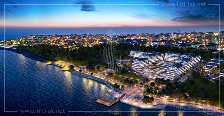 IMT-71 Projet de Marina la mer de Marmara