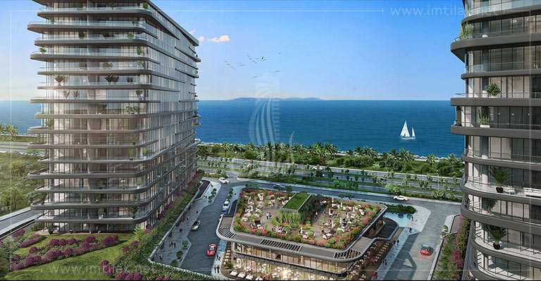 Real estate in Istanbul Turkey For Sale - IMT-102 The Blue Beach Project