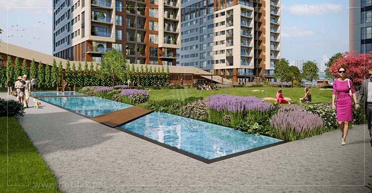 Apartments for sale in Istanbul European side -  IMT-104 Eurasia Residence